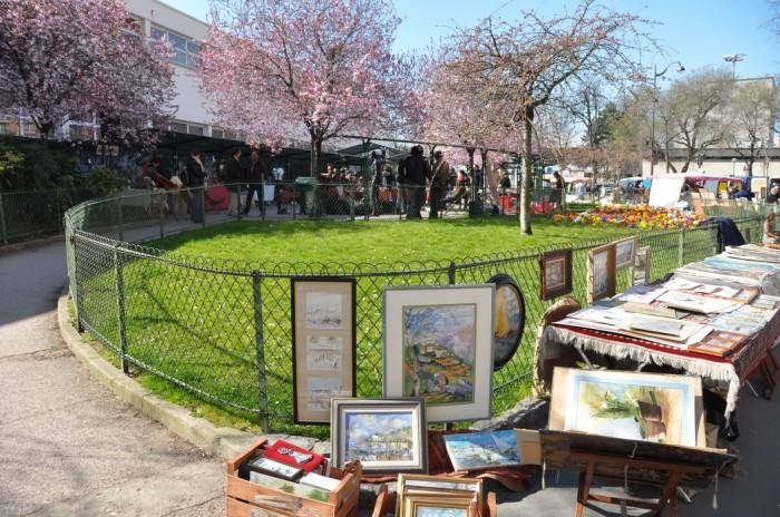 Welcome on the site of the only flea market of the inner Paris